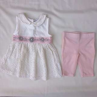 Preloved Dress for Baby 3-6M
