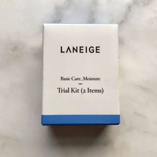 [Laneige] Basic Care Moisture Trial Kit (2 Items)