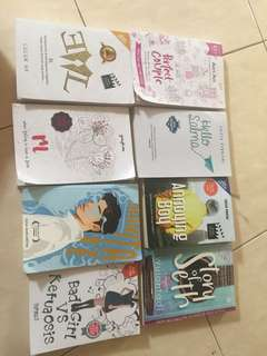 NOVEL {semua difoto best seller}
