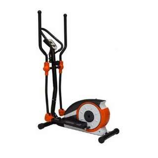 Sepeda magnetik statis alat fitnes elliptical bike tanpa tempat duduk