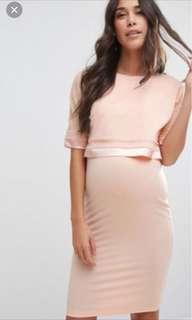 ASOS brand new maternity nursing dress