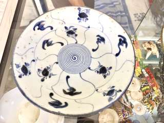 BLUE & WHITE QING PLATES