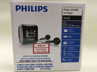 PHILIPS SA2208 MP3 Player (8GB)
