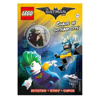 THE LEGO BATMAN MOVIE: Chaos in Gotham City (with minifigures) RRP: RM37.90