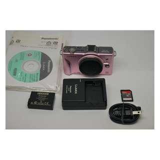 Panasoinc GF2 櫻花粉 限定色 附Sandisk 16g Class 10 SD 記憶卡