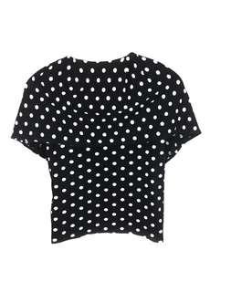 IS Issey Miyake Polka Dot Top Dress/Blouse
