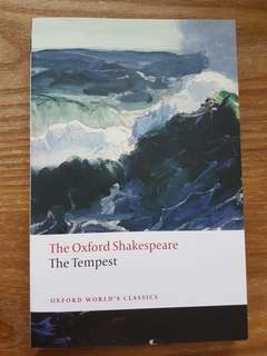 BN3229 The Tempest The Oxford Shakespeare