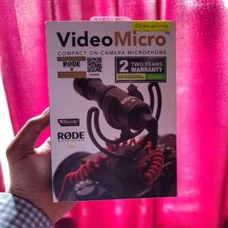 Rode VideoMicro (99% like new)