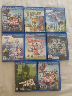 Ps Vita Games rm40 to rm80