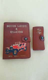 Vintages Rolls Royce 1909 Wallets