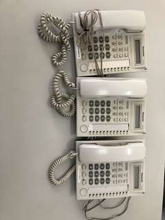 Office relocation sale : Panasonic phone