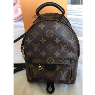 authentic Louis Vuitton Palm Springs backpack