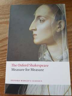 BN EN3229 Measure for Measure The Oxford Shakespeare