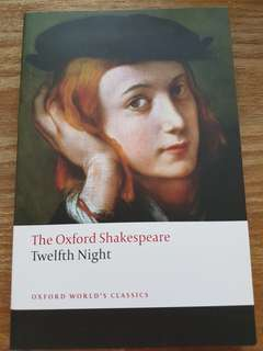 BN EN3229 Twelfth Night The Oxford Shakespeare