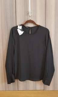 Black Mango Blouse