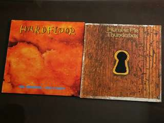 HARDFLOOR ● HUMBLE PIE . mr. anderson - fish & chips / thunderbox.  ( buy 1 get 1 free ) vinyl record