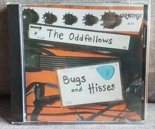 arthcd THE ODDFELLOWS Bugs and Hisses (B-sides and Ratities) CD + 5 Bonus Tracks - Brand New Sealed (Local Band, BIGO, Singapore)