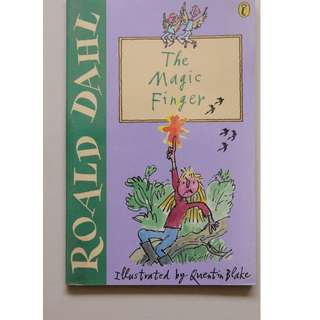 Children's Book :  The Magic Finger   ( Author : Roald Dahl )