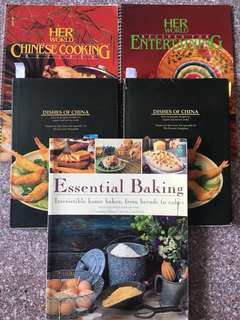 Cook Books Baking Books