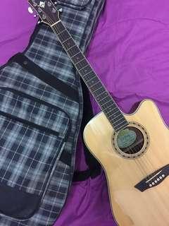 Gitar Akustik Elektrik Washburn