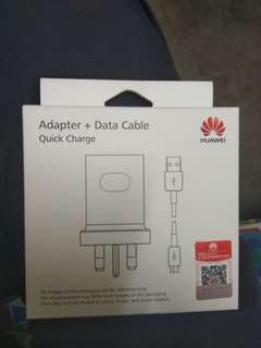 HUAWEI Adapter & Data Cable (Quick Charge)