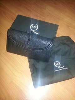 Alexander McQueen Flap Leather Wallet