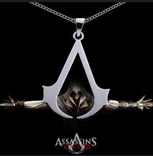 Assassins Creed Altair Logo Necklace Accessories