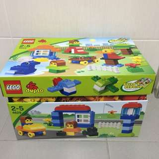 Preloved Lego Duplo 4629 Build and Play Box