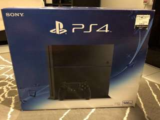 PS4 1206A PLAYSTATION 4 500GB JET BLACK