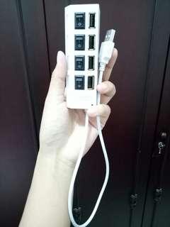 USB Hub 4 port saklar on off