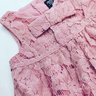 Lacey Dress (Dusty Pink)
