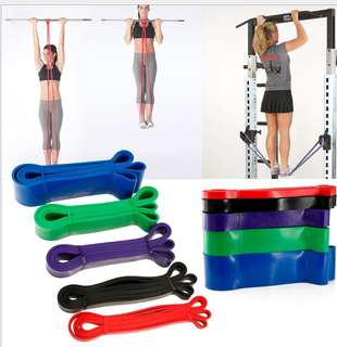 Pull up resistance band exercise band long band
