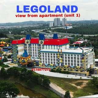 Legoland homestay max 5 orang
