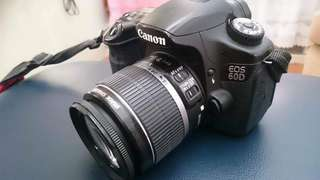Canon 60D with 18-55mm kit lens and Sigma 30mm 1.4f