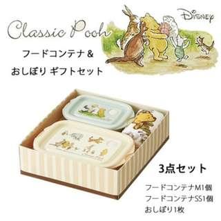 🇯🇵️日本製.Winnie the Pooh / 龍貓 餐盒毛巾🎁禮盒裝
