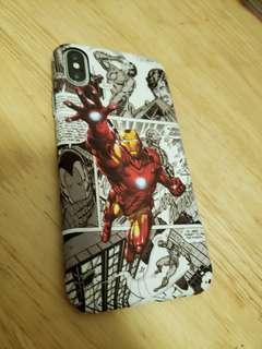 iPhone X Samsung s9+ 機殼 保護殼 Marvel Avengers iron man hulk