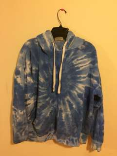 Dope Blue Tie Dye Sweater #10andunder