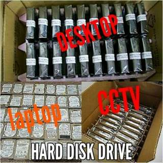 Hard disk PC CCTV Laptop