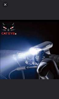 In stock! Brand new Cateye HL-EL135 bicycle head light