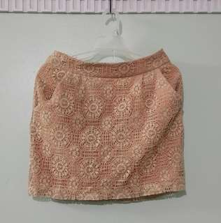 REPRICED! FOREVER 21 Lace skirt (LOVE 21)