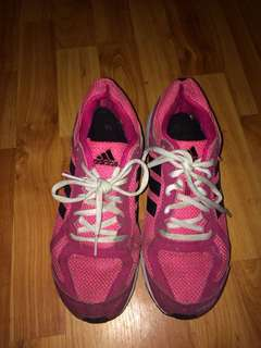 Pink Adidas Running Shoes #10andunder