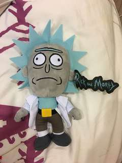 Rick and morty doll