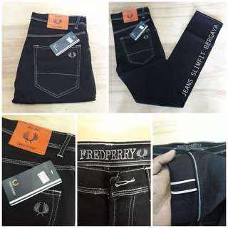 Fred Perry Slimfit Jeans