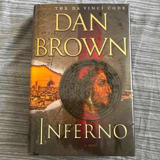 Inferno by Dan Brown (Hardbound, First Edition)