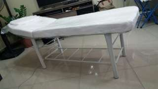 GOOD BUY! FRESH! Facial Bed with Hydraulic Stool (set)