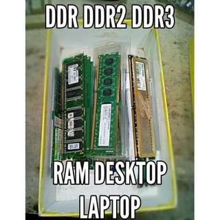 Ram DDR2 DDR3