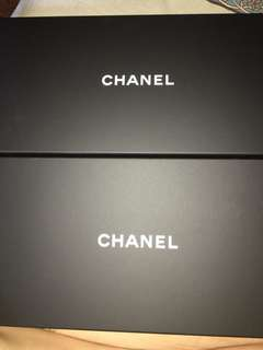Chanel box x 2pcs