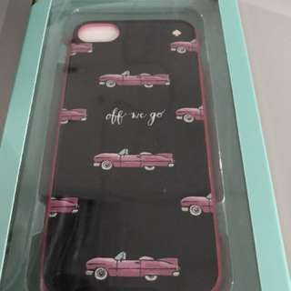Authentic Kate spade hot rod case for iphone 7/8