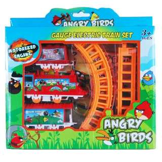 photo Share This Listing Save Public Comments  Be the first to write a public comment. Ask a question or @mention a friend to check this out! (NEW) Toy Train Set Angry Bird Gauge 360 Battery Rotary Railway