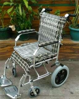 Aluminum Travel Wheelchair